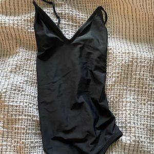 NWOT black O'Neill one piece bathing suit